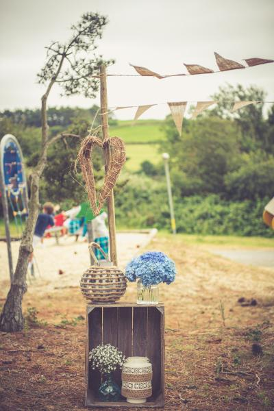 Un petit air d'Antilles pour un mariage champêtre en Bretagne