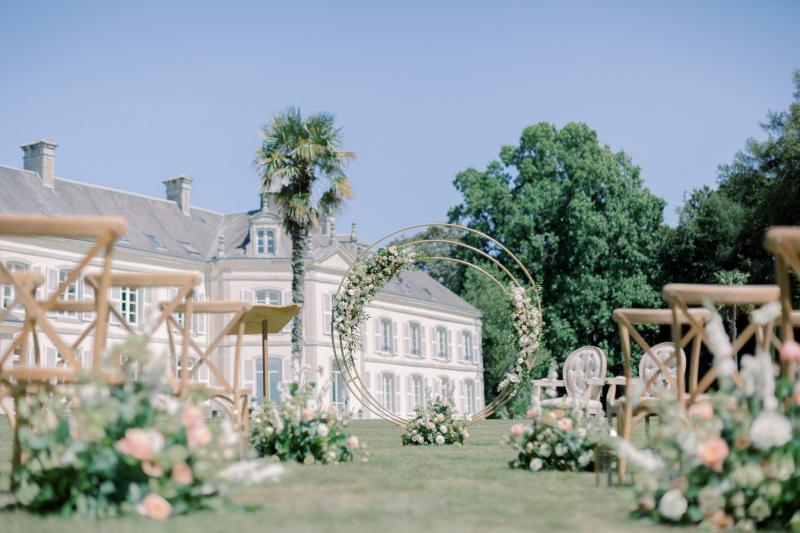 Mon mariage nature-chic dans un chateau en Bretagne - My wedding in a Breton castle...like a touch of south in Brittany