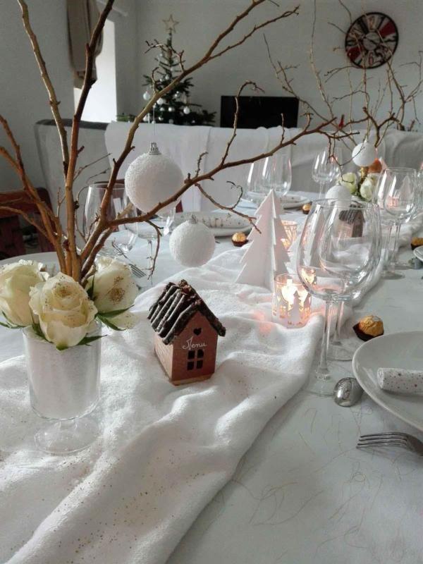Noël : décor enneigé 6