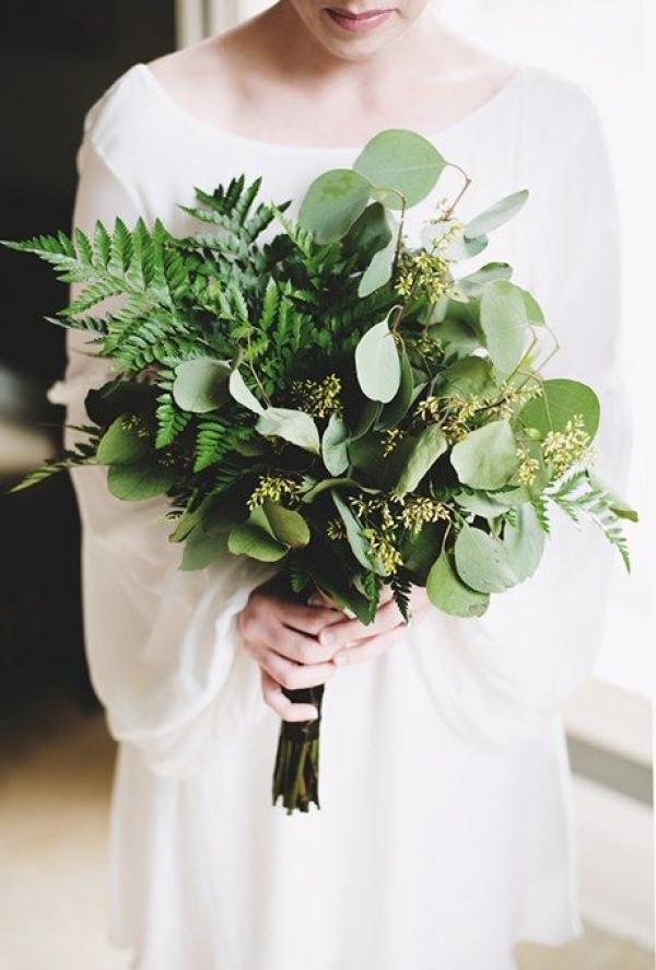 La couleur de votre mariage 2017? Le Greenery! 9