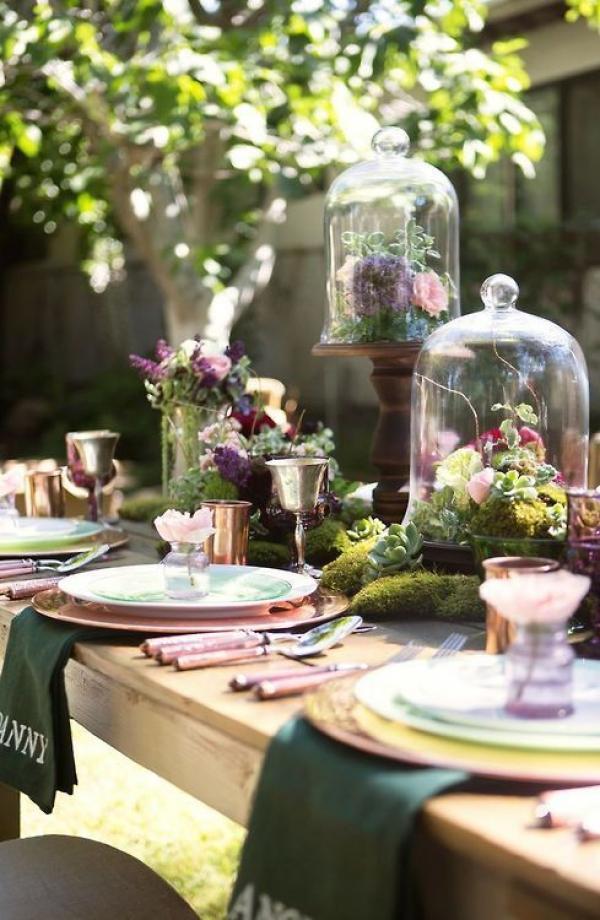 Le terrarium: la touche moderne et élégante de votre décoration de mariage 9