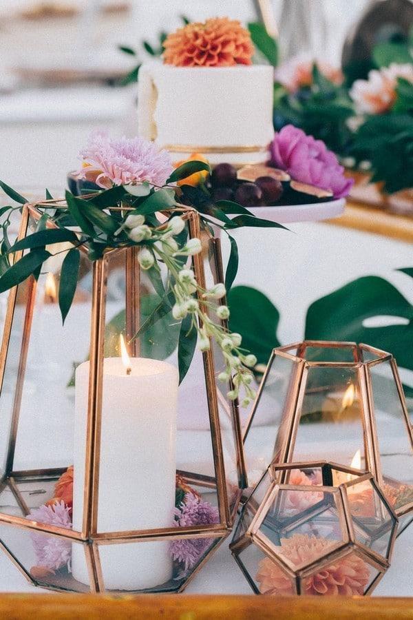 Le terrarium: la touche moderne et élégante de votre décoration de mariage 3