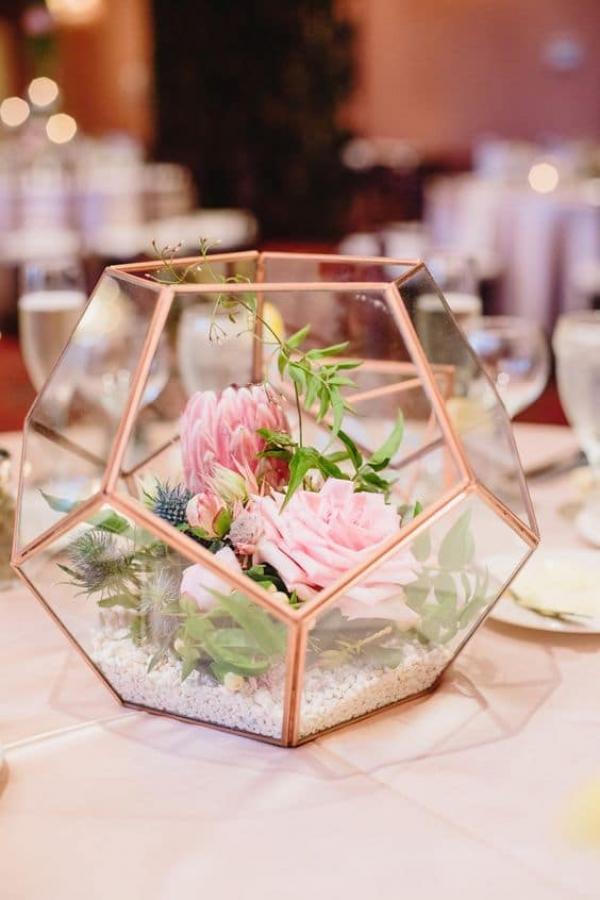 Le terrarium: la touche moderne et élégante de votre décoration de mariage 1