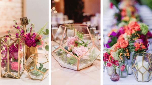 Le terrarium: la touche moderne et élégante de votre décoration de mariage 10