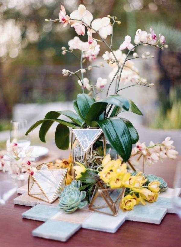 Le terrarium: la touche moderne et élégante de votre décoration de mariage 5