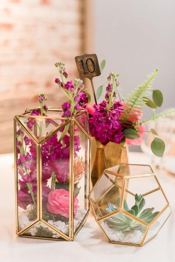 Le terrarium: la touche moderne et élégante de votre décoration de mariage 4
