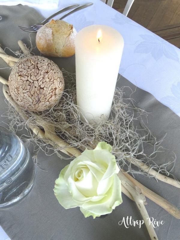 Décoration dégustation mariés 2017 Château de Colpo 15