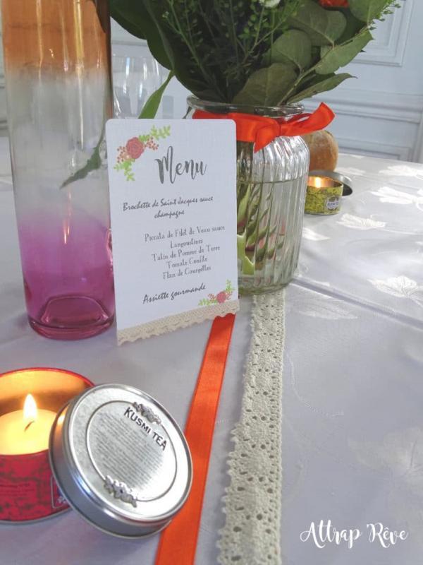 Décoration dégustation mariés 2017 Château de Colpo 12