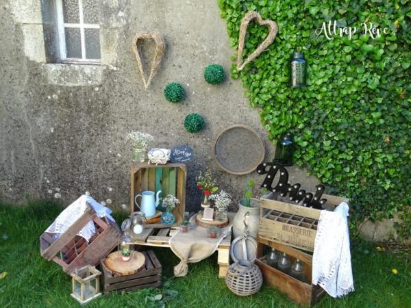 Mariage champêtre: louez votre décoration! 13