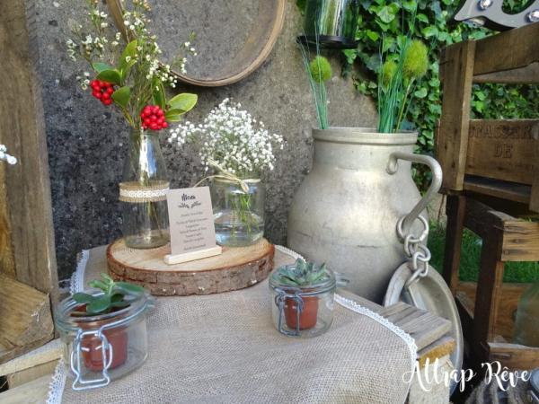Mariage champêtre: louez votre décoration! 2