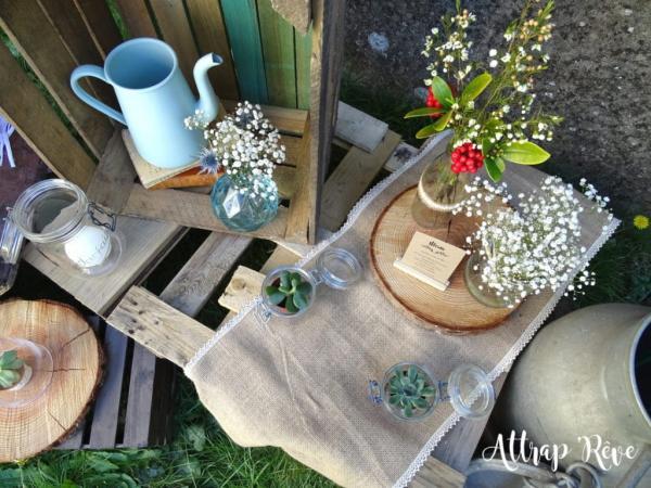 Mariage champêtre: louez votre décoration! 3