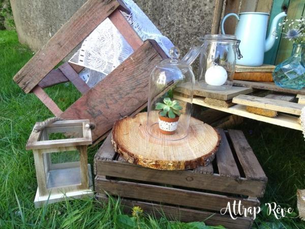 Mariage champêtre: louez votre décoration! 9