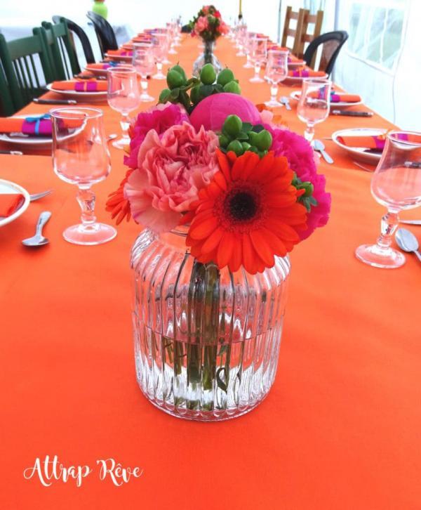 Des fleurs et des couleurs pour un anniversaire girly! 1