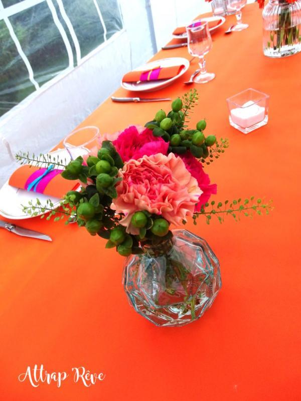 Des fleurs et des couleurs pour un anniversaire girly! 2