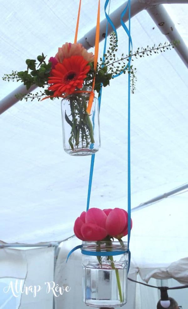 Des fleurs et des couleurs pour un anniversaire girly! 4