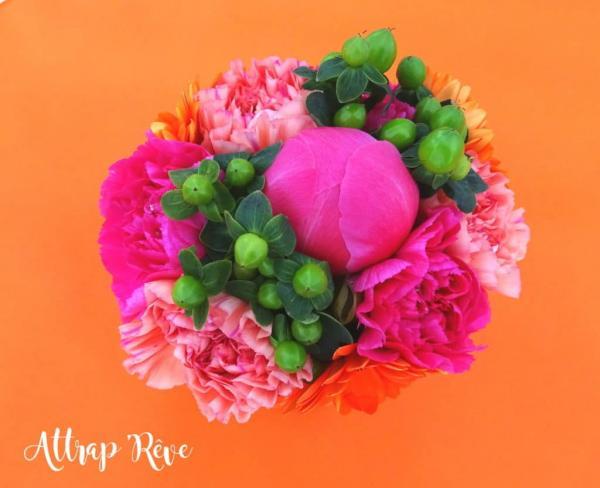 Des fleurs et des couleurs pour un anniversaire girly! 3