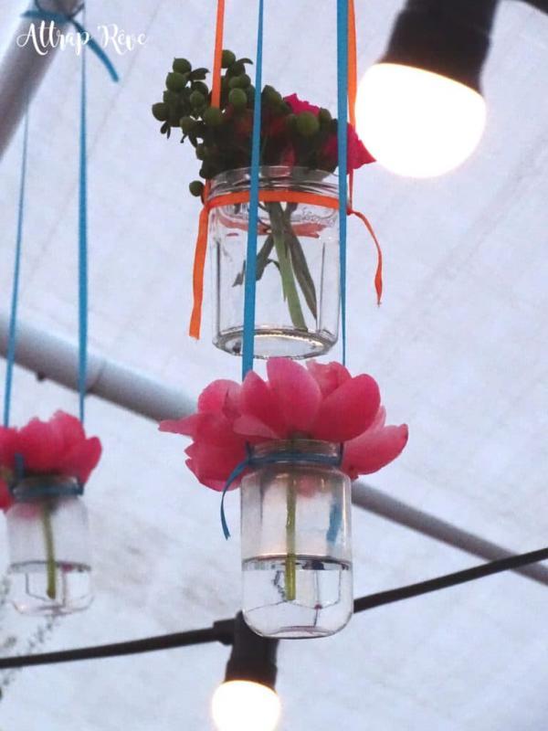 Des fleurs et des couleurs pour un anniversaire girly! 5