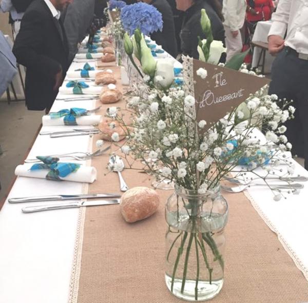 Un petit air d'Antilles pour un mariage champêtre en Bretagne 4