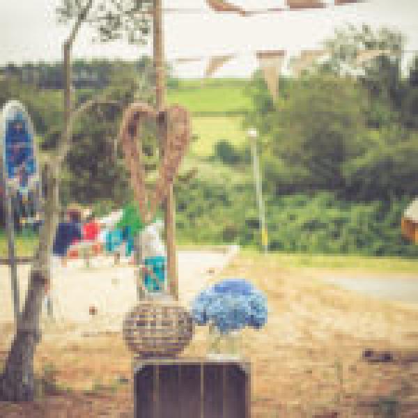 Un petit air d'Antilles pour un mariage champêtre en Bretagne 8