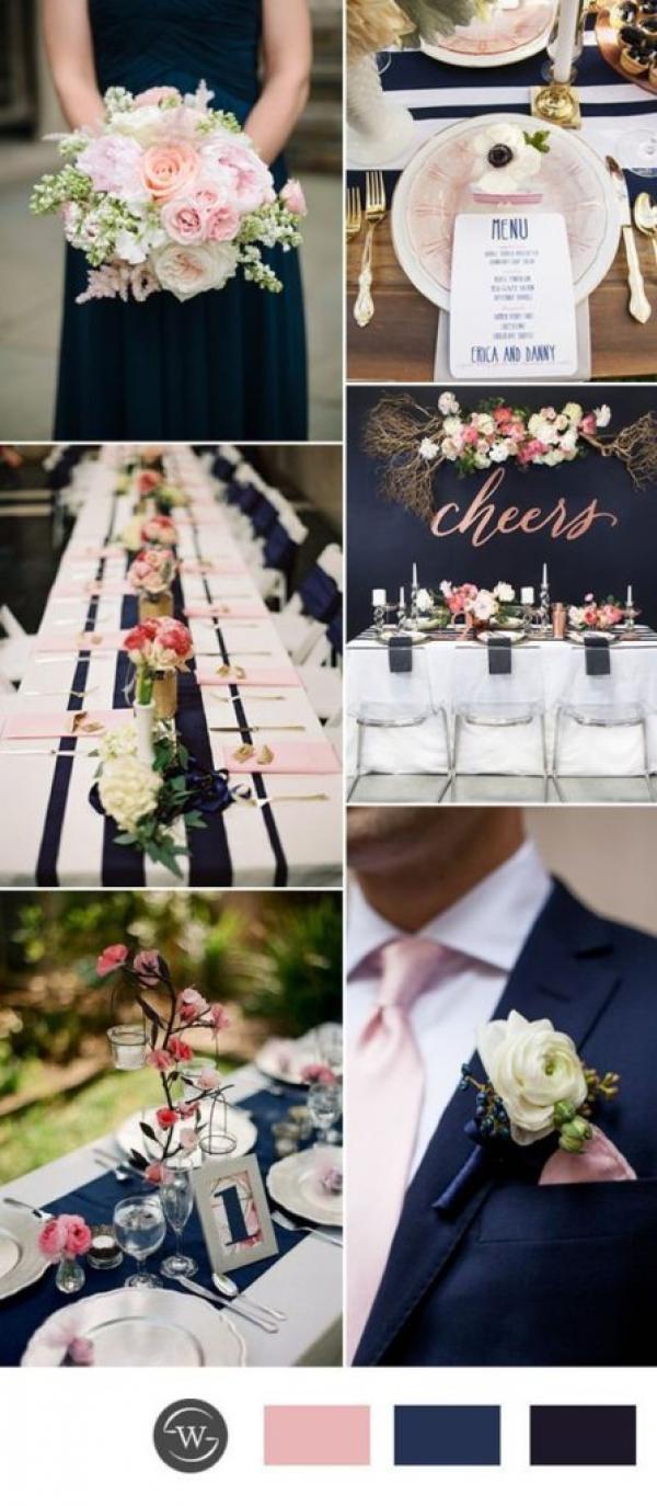 """Originalité, élégance et raffinement: votre mariage en bleu """"Navy Peony""""! 1"""