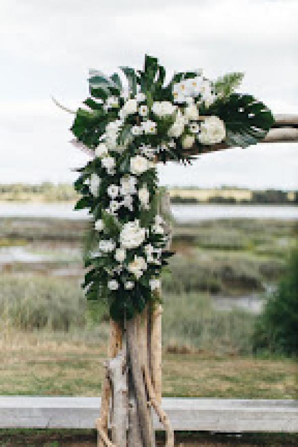 Un mariage aux notes exotiques, un esprit bord de mer chic... 8