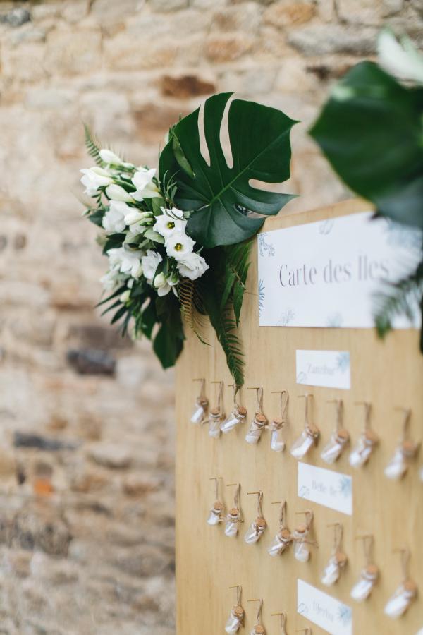 Un mariage aux notes exotiques, un esprit bord de mer chic... 11