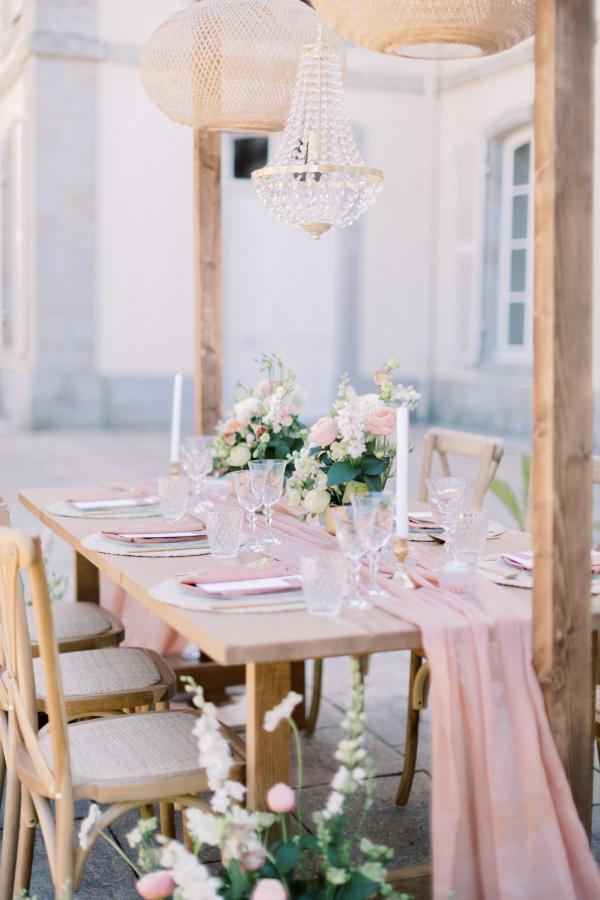 Mon mariage nature-chic dans un chateau en Bretagne - My wedding in a Breton castle...like a touch of south in Brittany 19