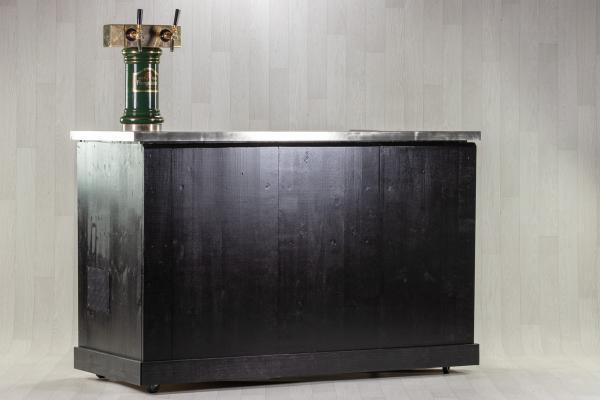 Bar Noir Inox avec tireuse à bière ou cidre 1