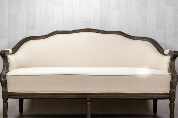 Canapé vintage baroque 1