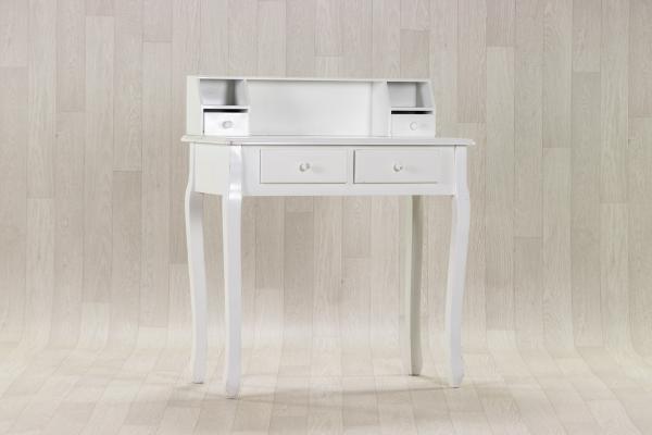 Console blanche en bois 1
