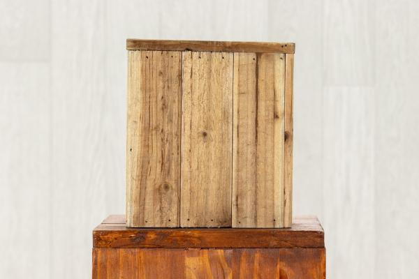 Jardinière en bois carré 1