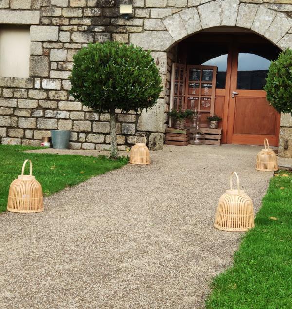 Lanterne en bambou 2