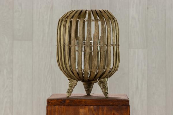Lanterne bambou trépied