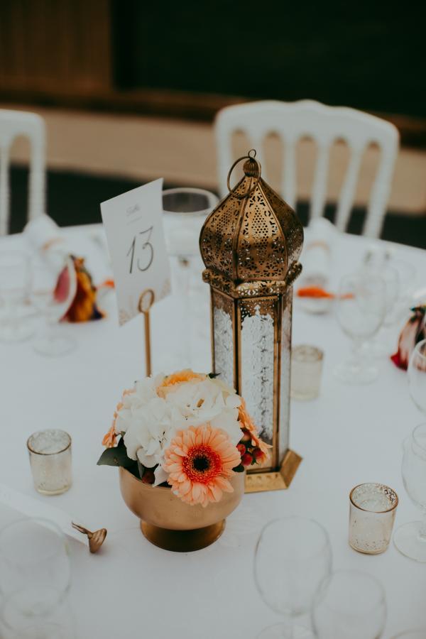 Lanternes orientales de table