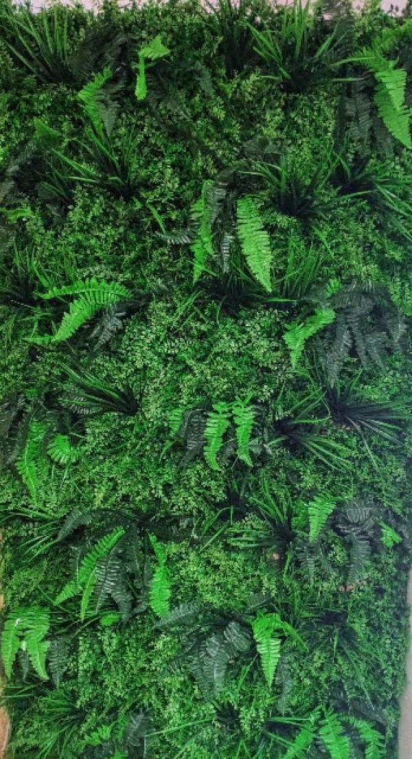 Mur végétal artificiel 2m x2 m 1