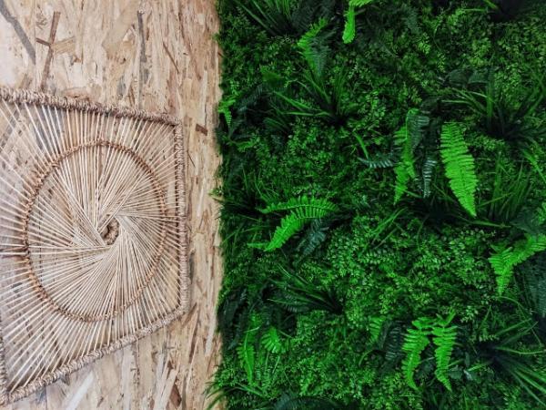 Mur végétal artificiel 2m x2 m
