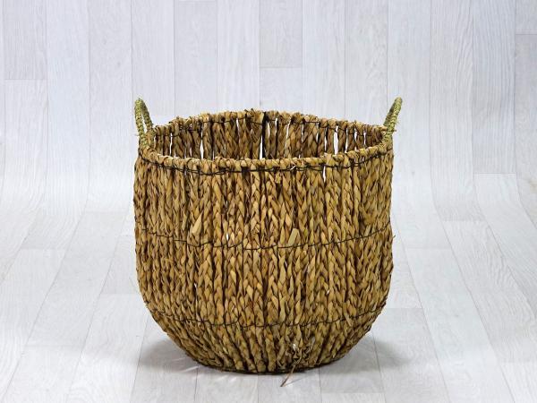 Panier fibre naturelle grand format 1