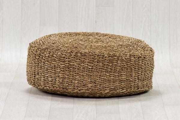 Pouf en fibre naturelle d60 1