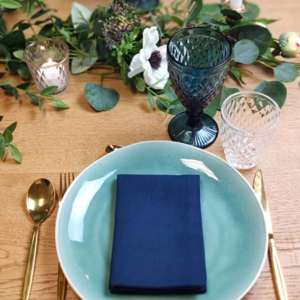 Serviette de table Bleu Navy