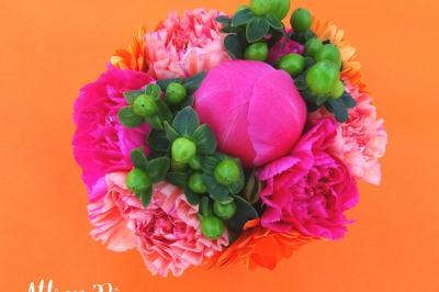 Des fleurs et des couleurs pour un anniversaire girly!