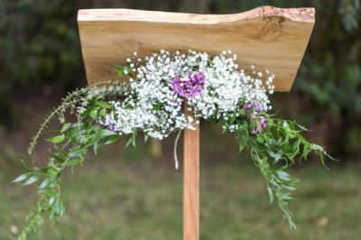 Pupitre de cérémonie en bois