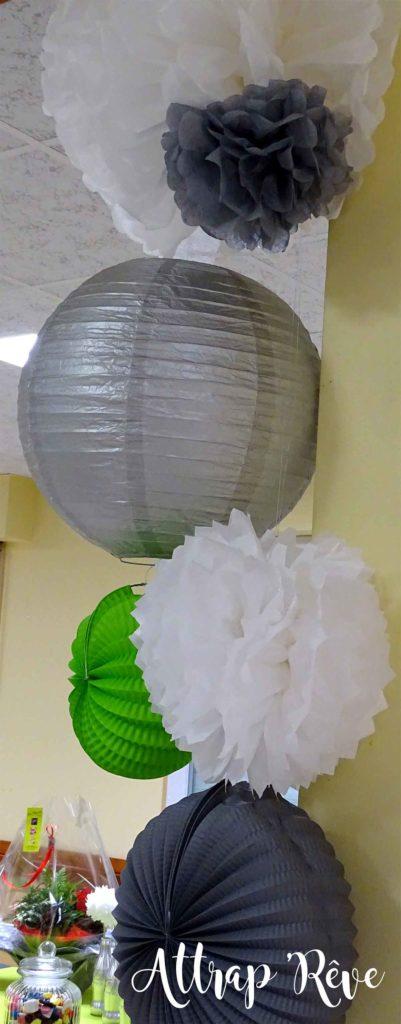 Anniversaire décoration lampion