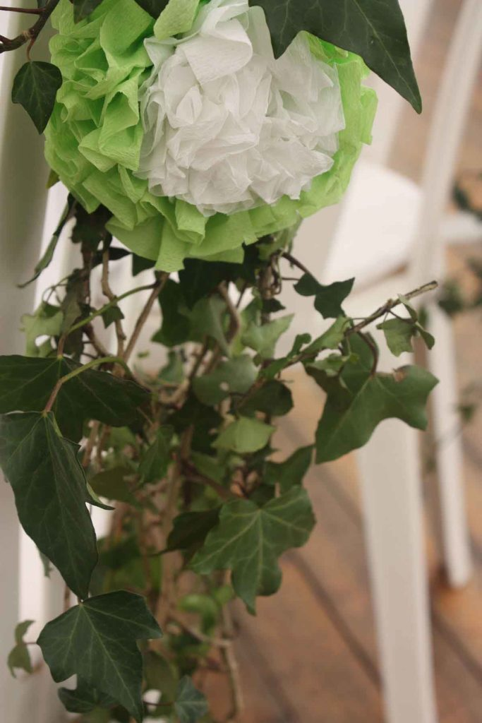 Mariage fleurs blanches