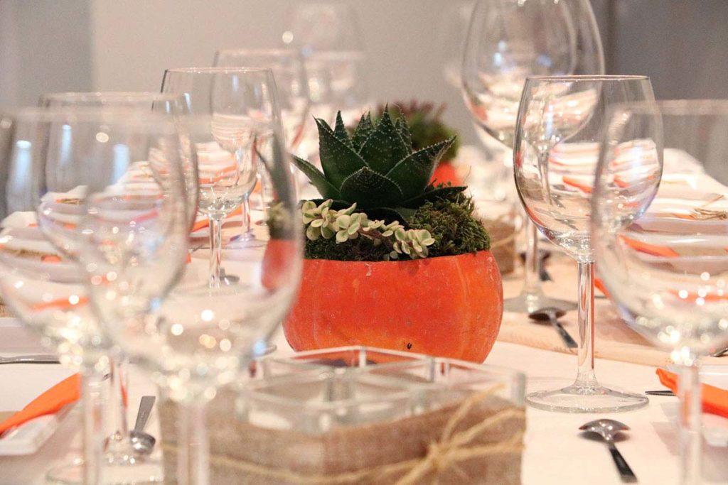 Décoration Thanksgiving cactus